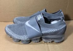 "Nike Air VaporMax Strap in ""Cool Grey"" Adidas Outfit, Nike Outfits, Workout Outfits, Fall Outfits, Grey Sneakers, Sneakers Nike, Sporty Fashion, Fashion Pics, Fitness Fashion"