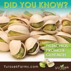 DID YOU KNOW? #Pistachios promote GI #Health! #FoodisMedicine