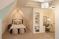 60 идей комнаты для девочки-подростка: цвет, зонирование, аксессуары http://happymodern.ru/komnata-dlya-devochki-podrostka/ Уютная комната с выделенной зоной для сна