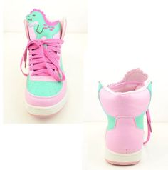 dinosaur pastel ghetto sneakers