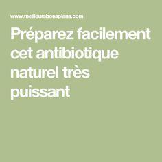 Préparez facilement cet antibiotique naturel très puissant