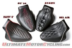 Hot Rod Motorcycle Seats by Le Pera