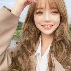 ◟⢁·˚✨ -ˏˋ pιnтereѕт ⁀➷ ˊˎ- ✨… ◝ – Typical Miracle Korean Girl Photo, Cute Korean Girl, Cute Asian Girls, Pelo Ulzzang, Ulzzang Korean Girl, Blonde Asian, Asian Hair, Korean Beauty, Asian Beauty