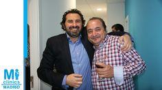 Javier Hidalgo Tallón, Director Médico de Mi Medical, con Jorge Puche, comunicador audiovisual de Visionary Bussines Consulting