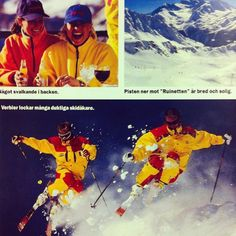 Tjohoooo! #throwbackthursday #tbt #katalogbild #love #skiing #90s #instalove #verbier