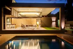 Modern Home that Emanates Luxury and Functionality exotic attractive gardens pool