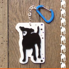 Jack Russel Terrier Key Holder by DARQ