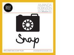 18th December 2013 Free Cutting File - Amanda Robinson Studio