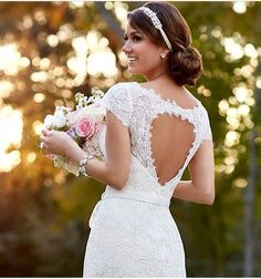 I love this! And the heart shaped back is beautiful. ~Stella York Spring 2015 Collection~