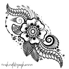 o much inspiration comes from my sweet friend and talented mentor – Henna Mehndi Art, Henna Art, Mehendi, Henna Drawings, Cute Drawings, Mehndi Design Images, Mehndi Designs, Mandala Drawing, Mandala Art