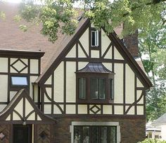 tudor homes pictures | : Echoing the romantic ideas of English country simplicity, the Tudor ...