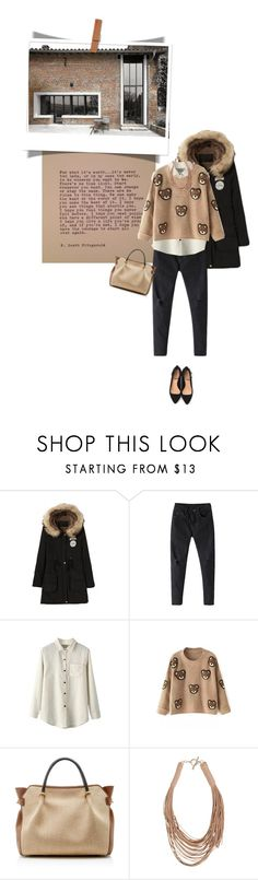 """""""Untitled #610"""" by tamara-40 ❤ liked on Polyvore featuring moda, Nina Ricci, Patchington, women's clothing, women, female, woman, misses, juniors y fashionset"""
