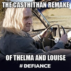 @DefianceWorld: Which one is Datak? Thelma or Louise? #Defiance