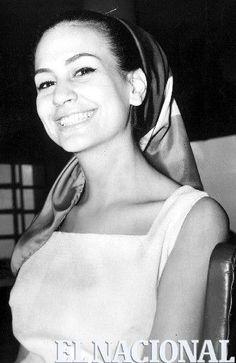 María de las Casas, ganadora de la XXII edición del concurso Miss Venezuela en el año de 1965. (ARCHIVO EL NACIONAL)