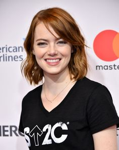 Emma Stone ✾ at 5th biennial stand up to cancer in Los Angeles, 09/09/2016