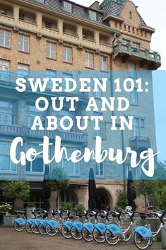 The Ultimate Guide to Gothenburg: What to Eat, See & Do. Young, progressive, hip, clean, innovative—these are all adjectives I'd use to describe Gothenburg, Sweden's second largest city and the jumping off point for all west coast road trips. It's a little bit casual, a little bit cosmopolitan, and a whole lot hipster.  Gothenburg should be on any Sweden Itinerary. | Camels and Chocolate #sweden #gothenburg #cityguide #travelguide