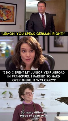 "When Liz was asked if she could speak German. | 24 Quotes From ""30 Rock"" That Made The Show Unforgettable"
