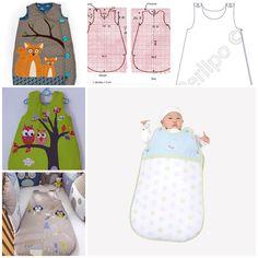 Every baby needs a sleeping bag in winter, regardless of gender... Free template--> http://wonderfuldiy.com/wonderful-diy-baby-sleeping-bag-with-free-template/