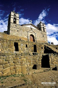 Iglesia San Juan Bautista, Vilcashuaman, Ayacucho, Perú.