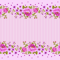 Trouvé sur la page http://freedesignfile.com/111818-pink-roses-frame-background-vector/