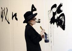 Yoko Ono veröffentlicht ihr neues Kunstbuch «Acorn» - Kultur - tagesanzeiger.ch