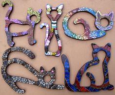 Mosaiques de chats Cats mosaics