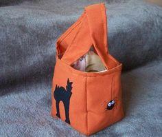 Boo! Halloween bat gift bag