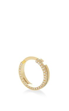 Yellow Gold One-Open-Band Ring by Maison Dauphin for Preorder on Moda Operandi