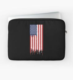 """""""US flag"""" Laptop Sleeve by"""