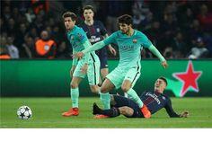 Imprensa espanhola sem piedade do internacional português após a humilhação que o Barcelona sofreu frente ao PSG