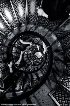 """Leonard Hammen, """"lost in circles"""", Blende Fotowettbewerb"""