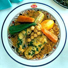 recette COUSCOUS DE DJERBA(Tunisie)