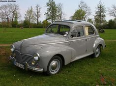 ♥ Peugeot 203 ♥ Our baby is a little bit darker, from love him ♥♥♥ French Classic, Old Classic Cars, Peugeot, Vintage Cars, Cool Cars, Jeep, Automobile, Van, France