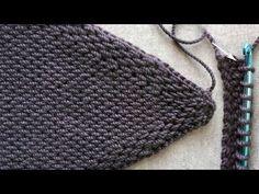 Tunus İşi İşkembe Modeli ( Tunisian crochet ) - YouTube