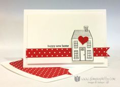 Stampin up stampin' up! mary fish holiday home homemade holiday framelits