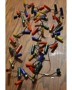Shotgun Shell Lights  http://www.countryoutfitter.com/products/93517-shotgun-shell-lights