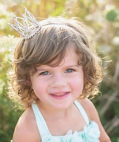 Another great find on #zulily! Rhinestone Crown Headband #zulilyfinds