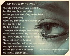 when you left this earth, so did I ...Time heals nothing.A heart that is broken never mends! My life is and forever always will be broken! Miss you,Stewart. always.