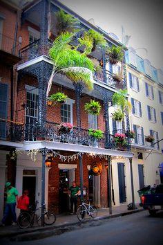 Balcony - New Orleans, Louisiana