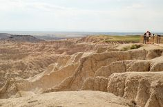 The Badlands of South Dakota