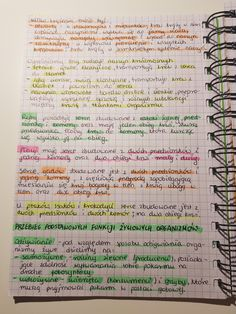 Study Notes, Hand Lettering, Back To School, Notebook, How To Get, Education, Learning, Biology, Handwriting