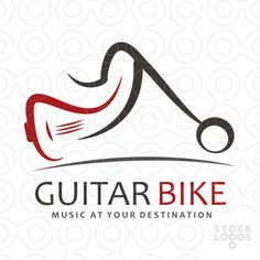 Logo FOR SALE!!! The logo is a combination of a motorcycle and a guitar.  Possible uses  Music business, music-transport business. contact@thracianweb.com www.thracianweb.com