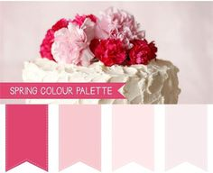 4 Hochzeit 2015 Frühling Farbtöne empfehlen wedding color trends hot pink blush hellrosa fades pink