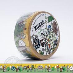 KUBBE Masking tape Cafe