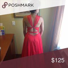 Selling this Red dress look just like Rihanna's Grammy Dress on Poshmark! My username is: bdmcneal. #shopmycloset #poshmark #fashion #shopping #style #forsale #Dresses & Skirts