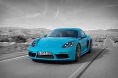 Like its open-air Boxster cousin, the 2017 Porsche 718 Cayman is powered by a mid-mounted turbocharged flat-four engine. But unlike the Boxster, it has a roof, giving it a look that recalls classic Stuttgart builds of old. The standard model...