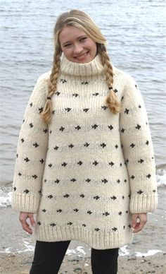 The Goncho Sweater -- knitting loom