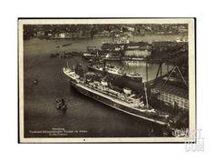 Hamburg, Norddeutscher Lloyd Bremen, Dampfer Europa Giclee Print