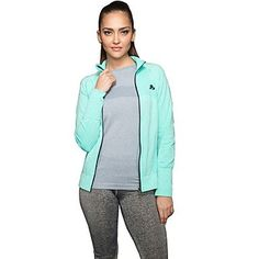 Pengfei Womens Long Sleeve Sports Jacket Fitness Gym Quaick Dry Tops  purple  l *** Read more reviews of the product by visiting the link on the image.