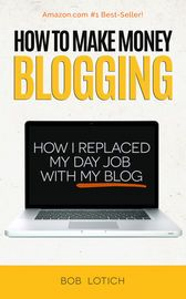 How To Make Money Blogging: How I Replaced My Day-Job With My Blog and How You Can Start A Blog Today | http://paperloveanddreams.com/book/881362221/how-to-make-money-blogging-how-i-replaced-my-day-job-with-my-blog-and-how-you-can-start-a-blog-today | Bob Lotich founded ChristianPF.com back in 2007 and after getting laid off in 2008 he took the leap into full-time blogging. Less than a year later he was earning more from his blog than his previous day-job.While his results are not typical…